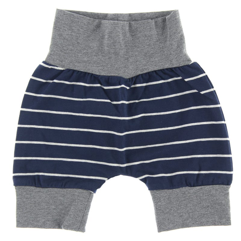 Striped Evolutive Short 3-24m