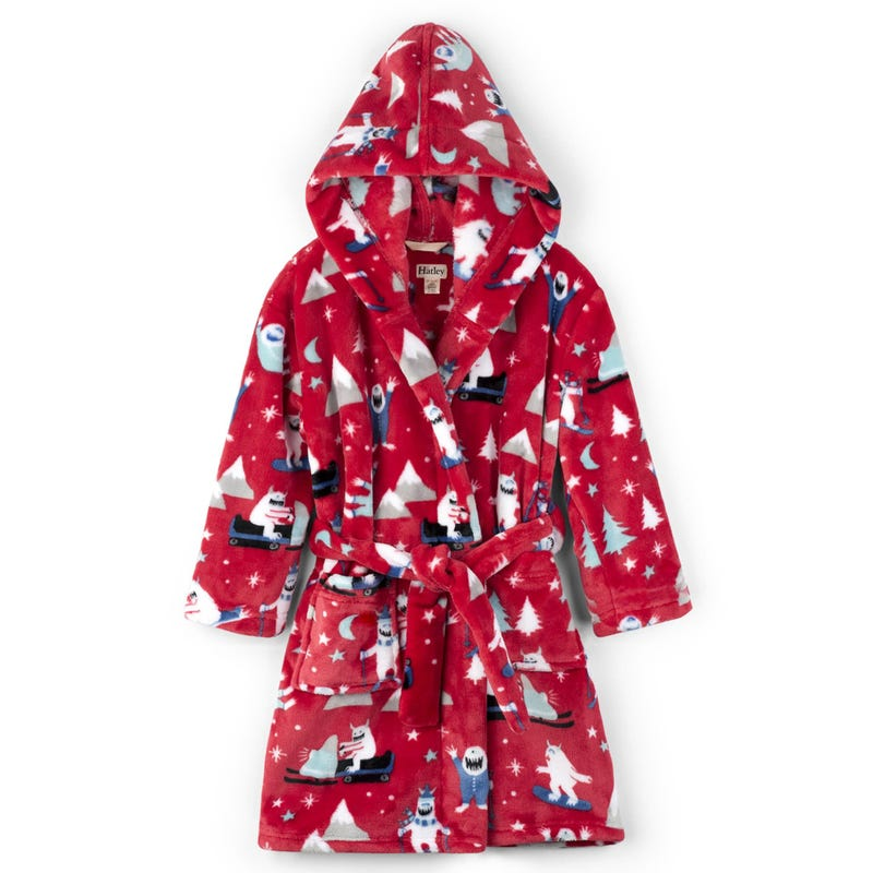 Mountain Monsters Kids' Fleece Robe 2-8y