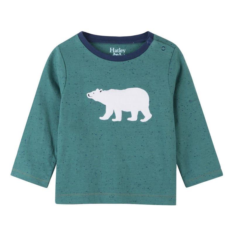 Polar Bear Long Sleeve Tee 3-24m
