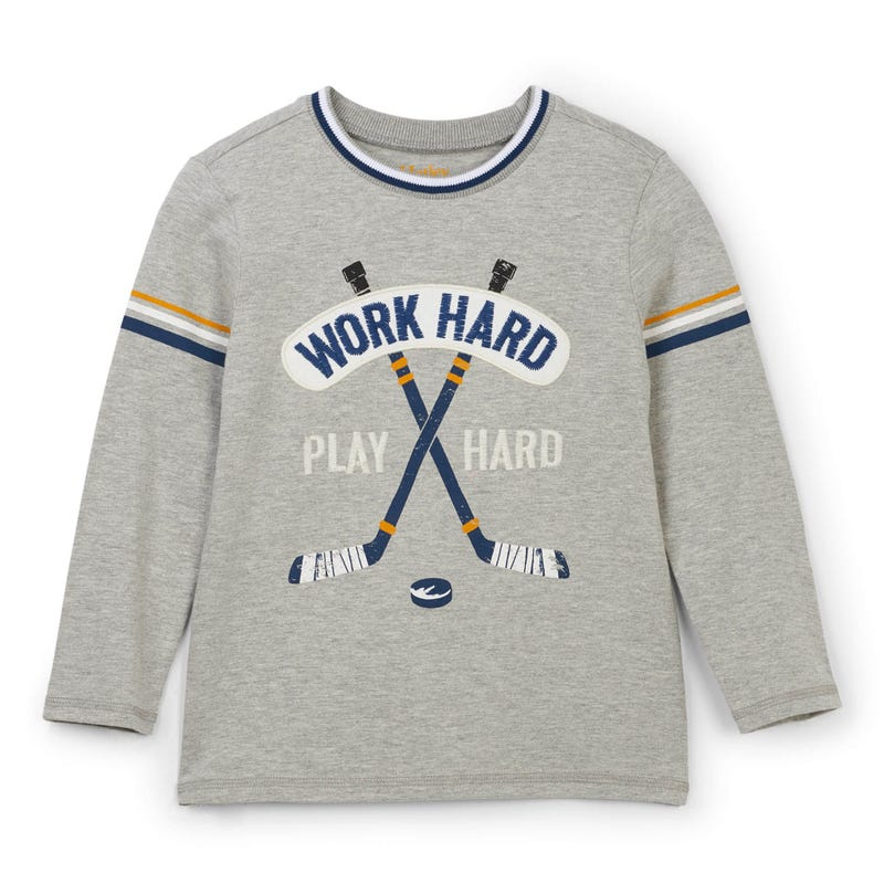 Dino Hockey L/S T-Shirt 2-8