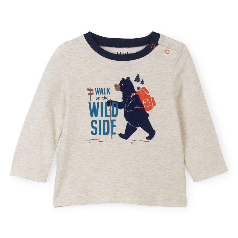 T-Shirt à Manches Longues Chalet 3-24mois