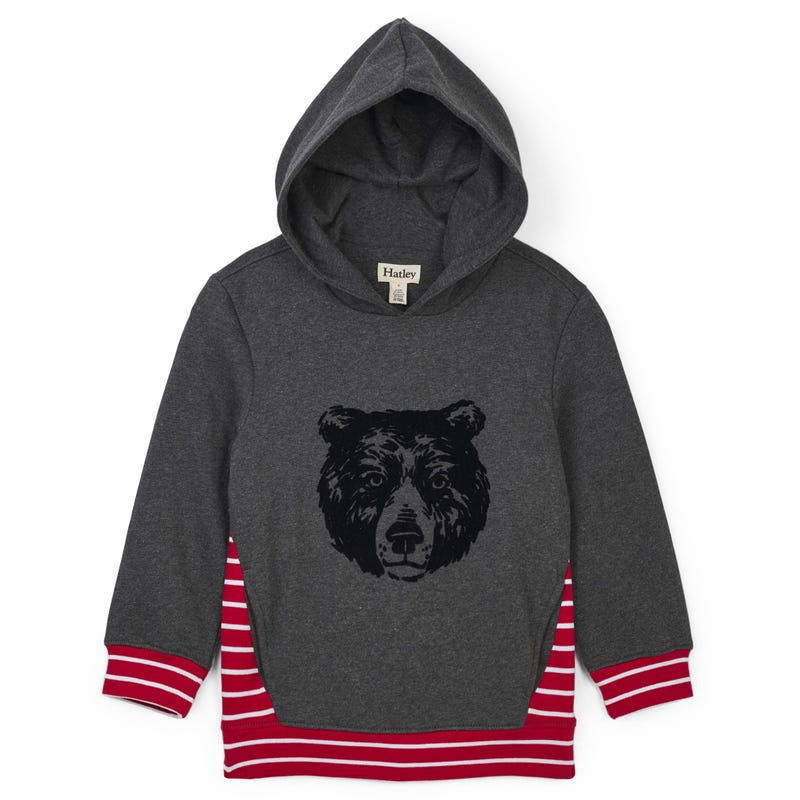 Wood Grizzly Hoody 2-8