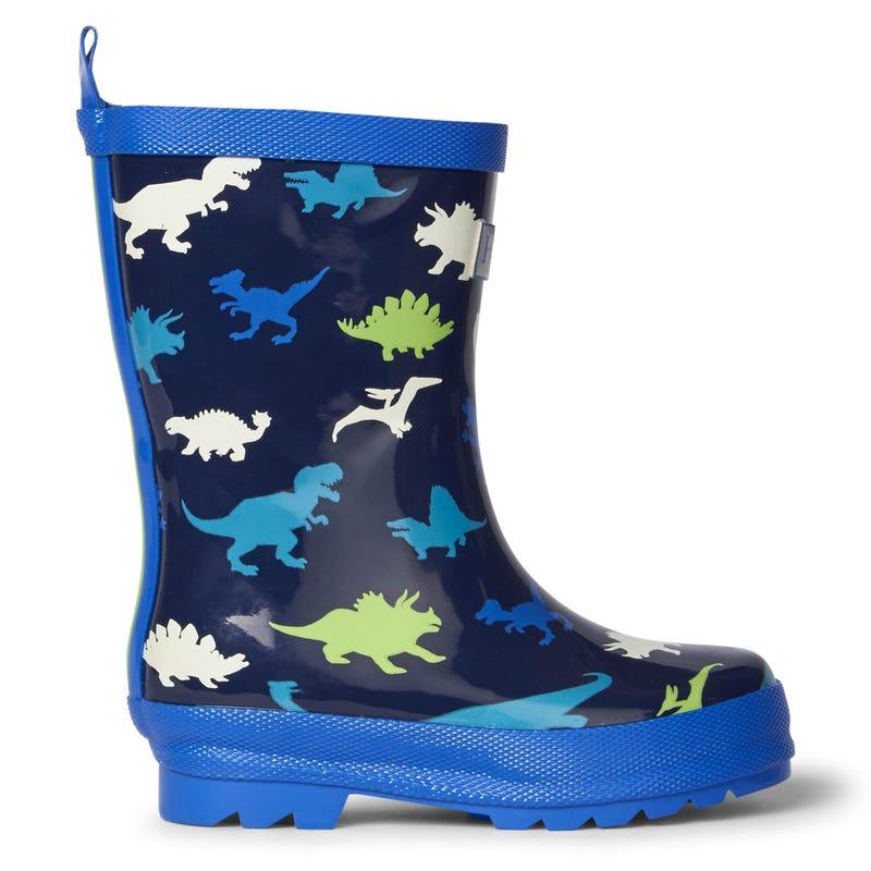 Dino Rain Boots 4-13