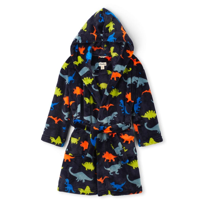 Dino Fleece Robe 2-12