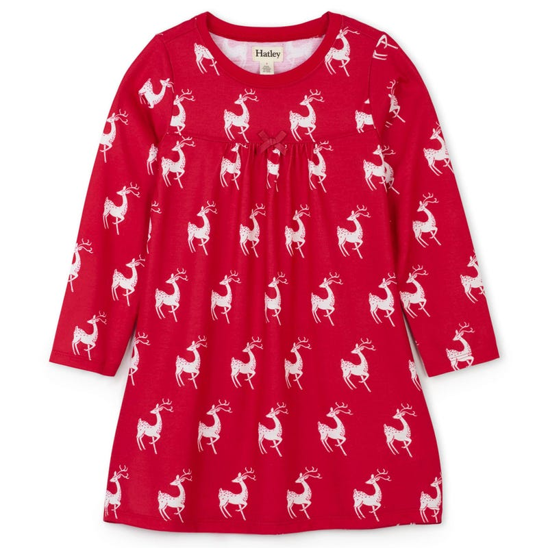 Deer Nightgown 3-12