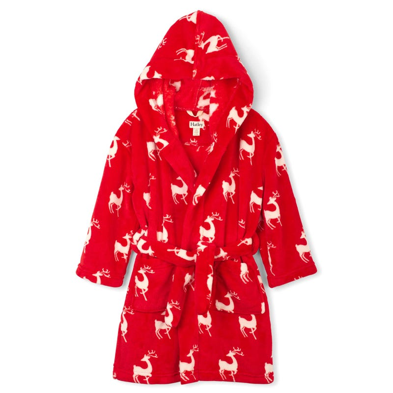 Deer Fleece Robe 2-12