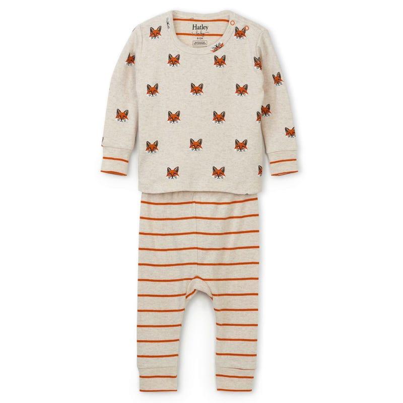 Fox Pajama 3-24m
