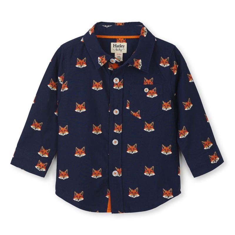 Cabin Fox Shirt 3-24m