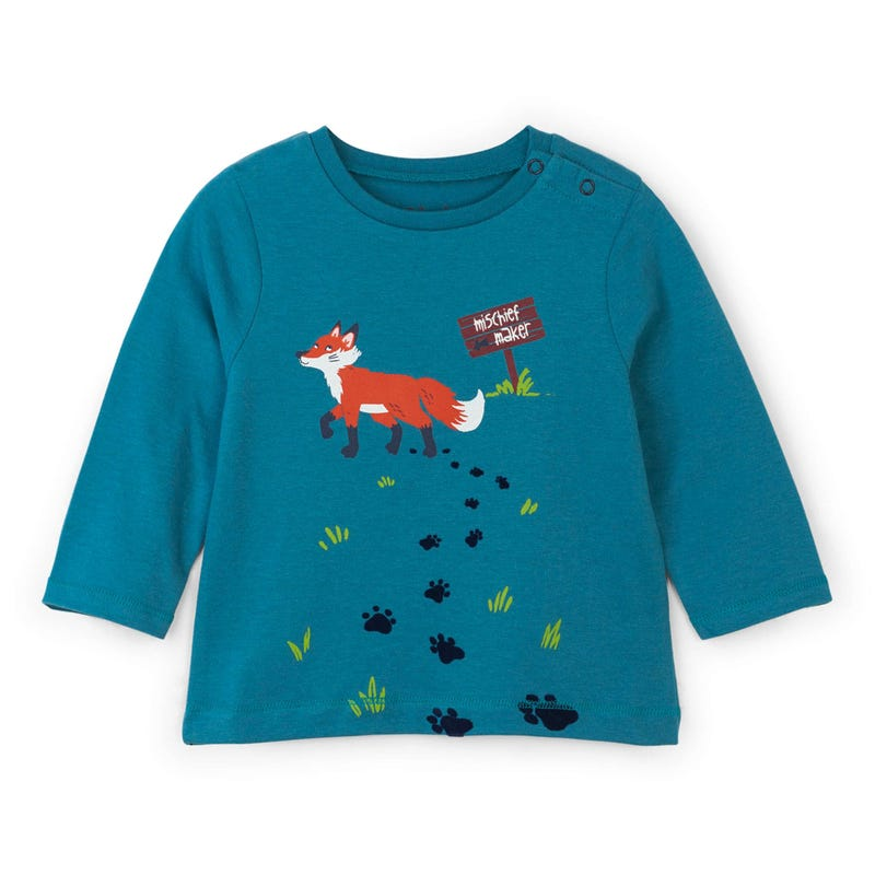 Cabin Fox L/S T-Shirt 3-24m