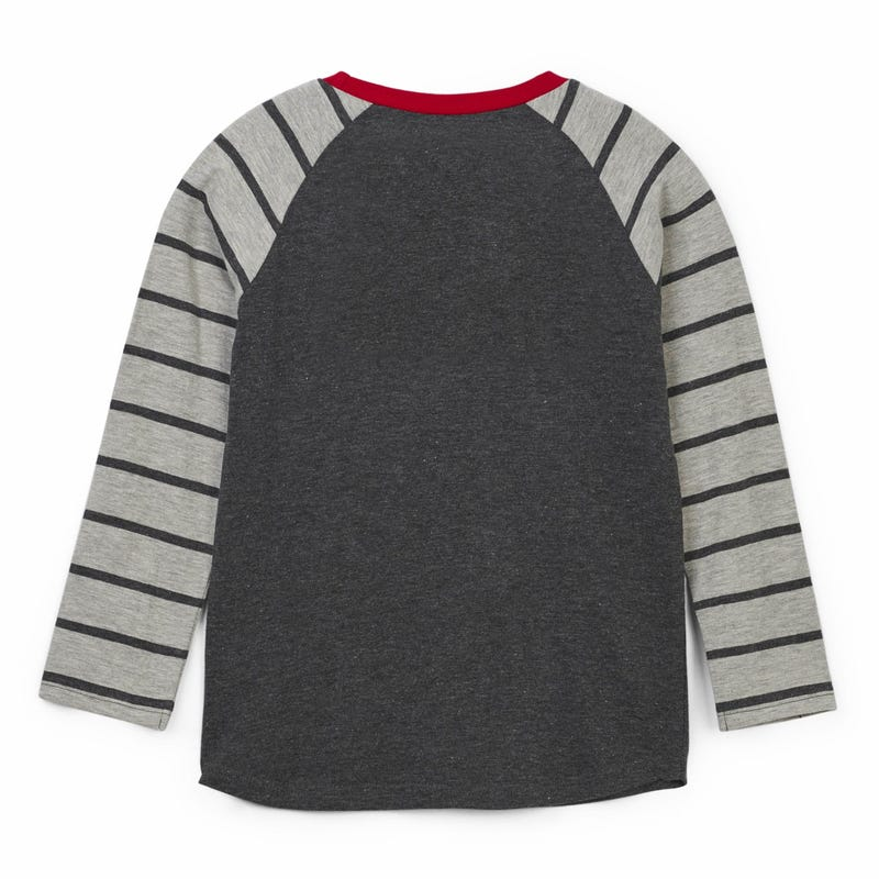 Wood Raglan L/S T-Shirt 2-8