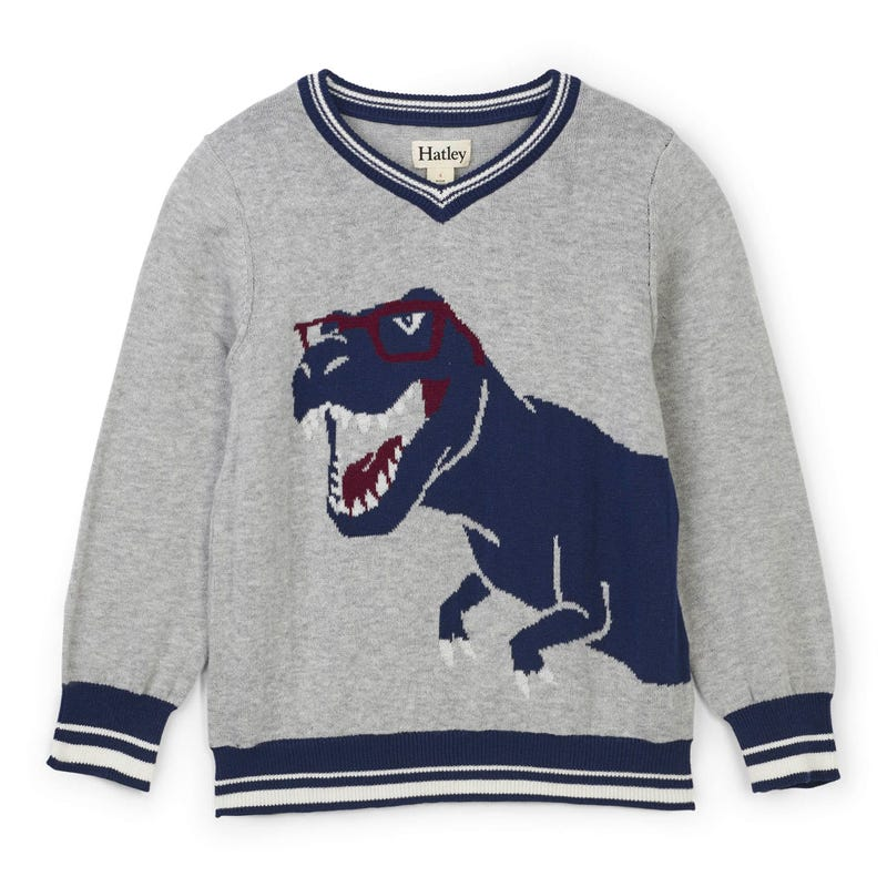 Pull Dino 2-8ans