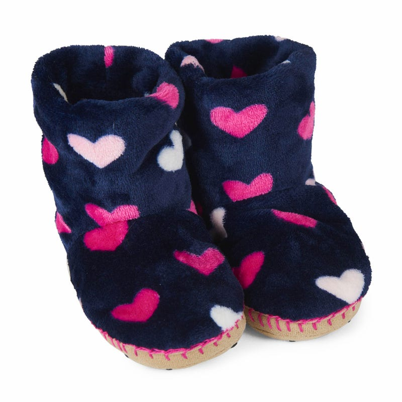 Hearts Slippers 2-8