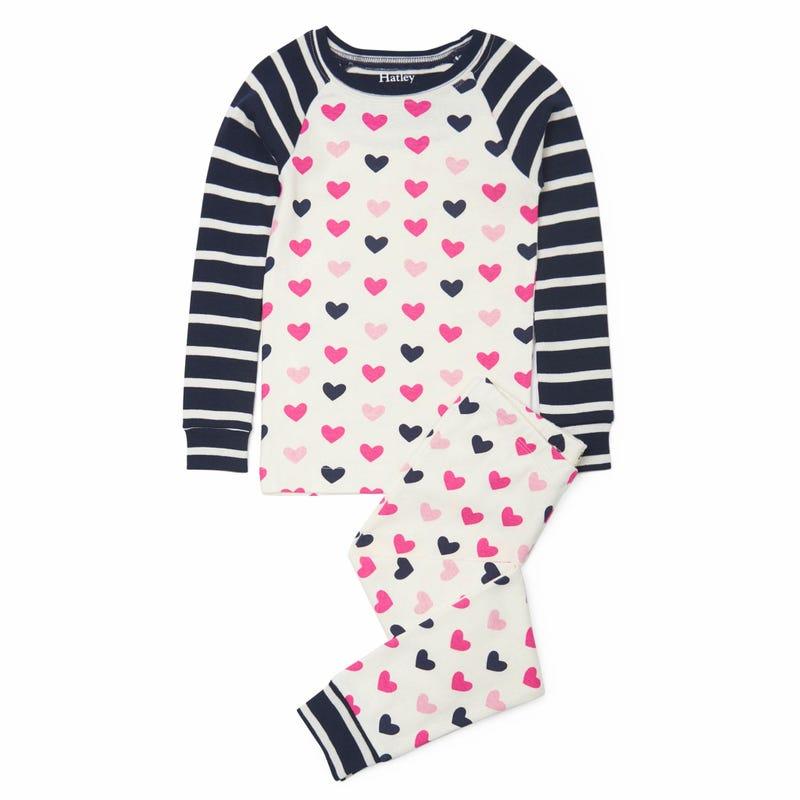 Hearts Pajama 3-12