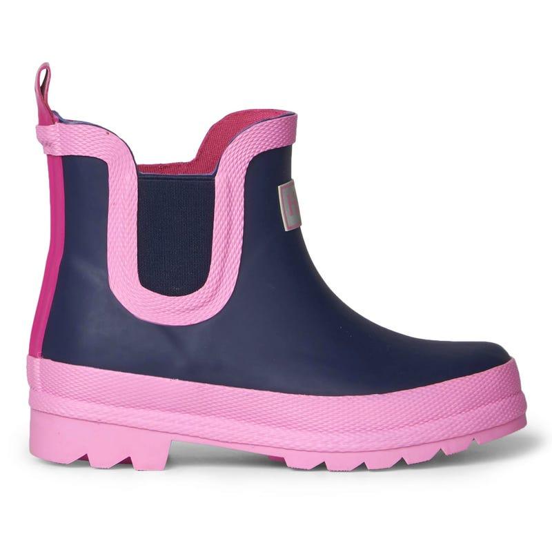 Navy Rain Boots 9-3
