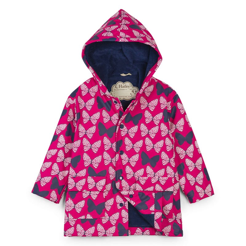 Butterflies Raincoat 2-10