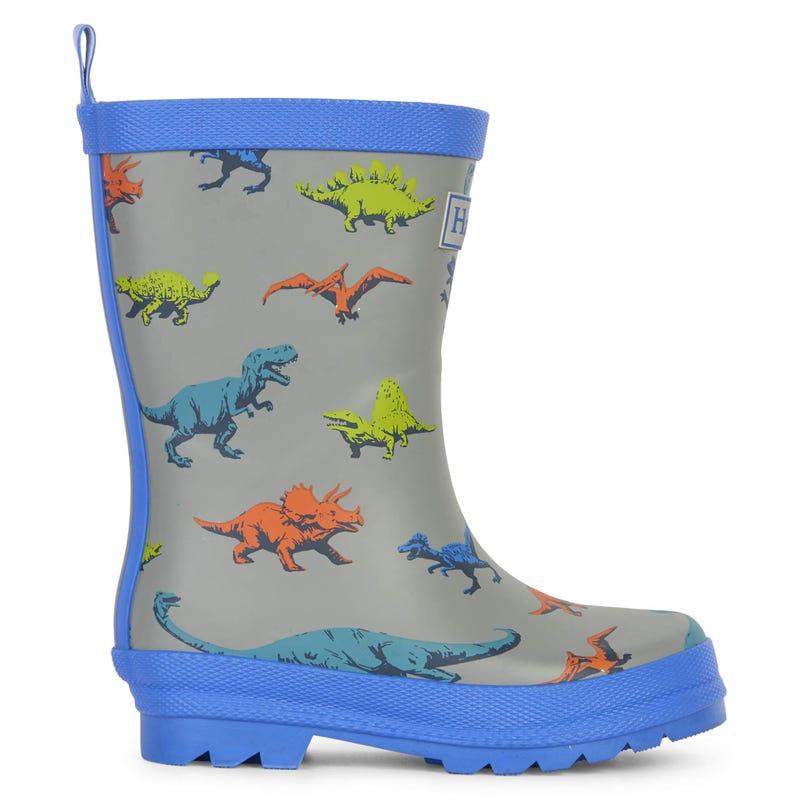 Dino Rain Boots 4-10