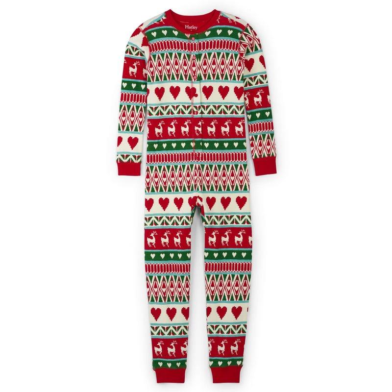 Deer Pajama 1pc 2-12