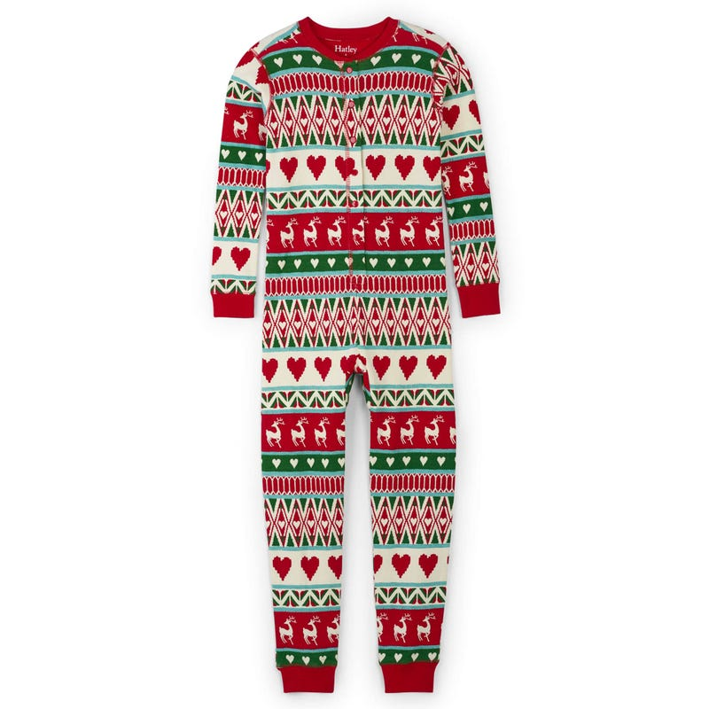 Deer Pajama 1pc 2-12