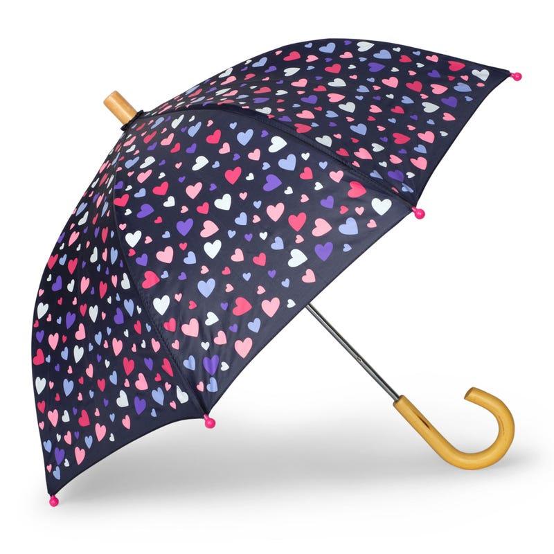 Confetti Hearts Umbrella