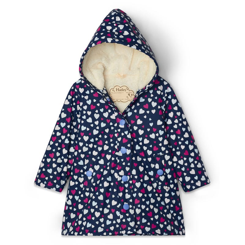 Imperméable Sherpa Coeur 3-8ans