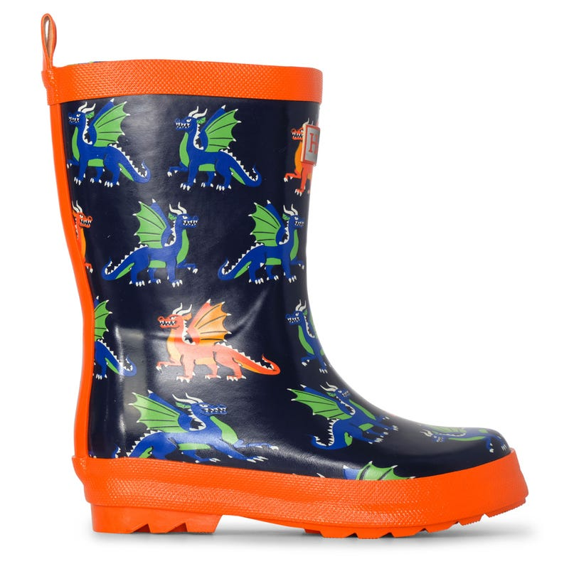 Dragons Rain Boots Sizes 4-13