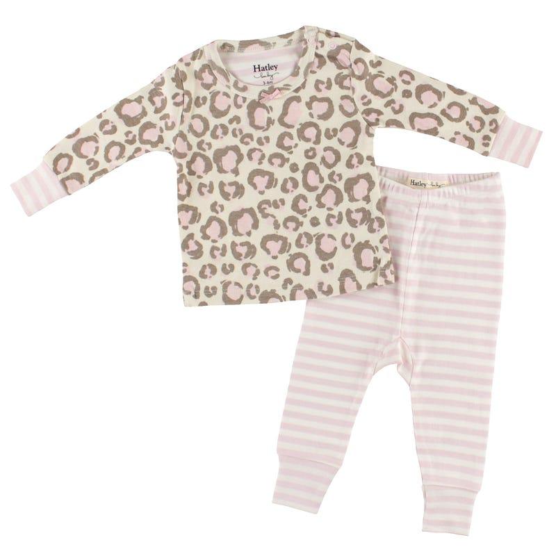 Leopard Pajama 3-24m