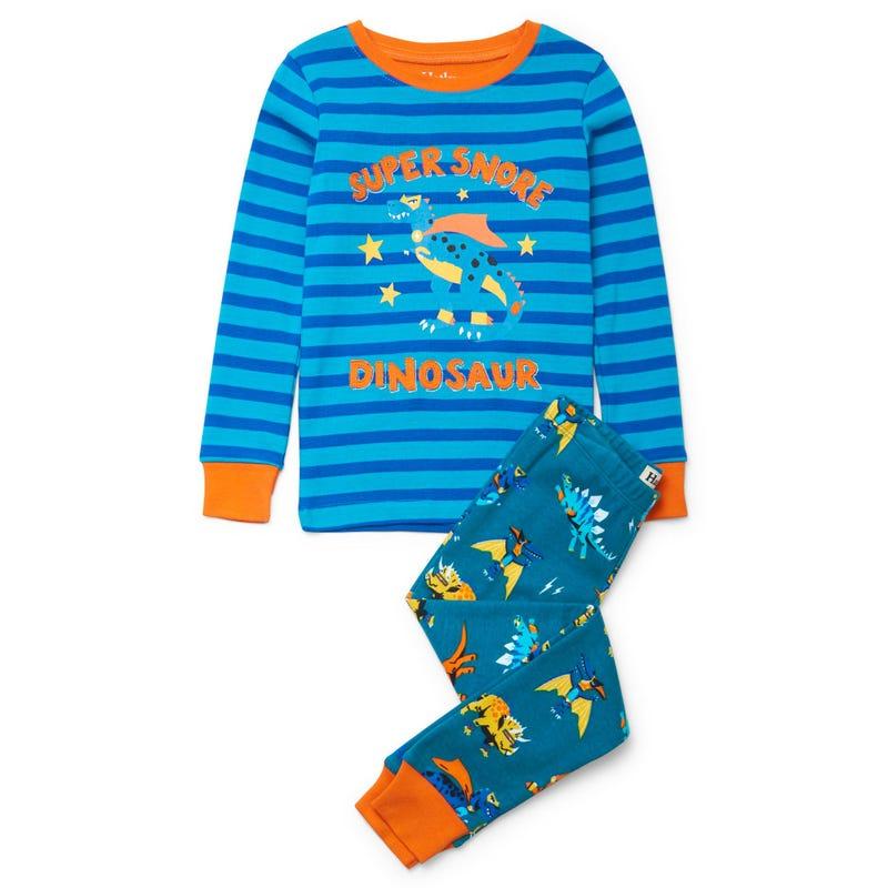 Dinos superheros Pajama 3-8y