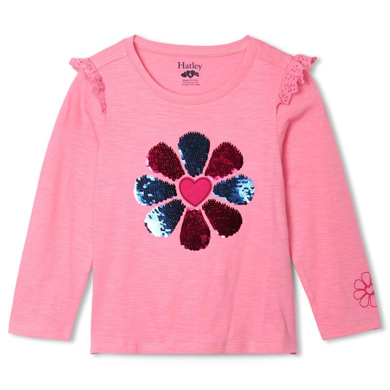 Heart Long Sleeves T-shirt 3-8