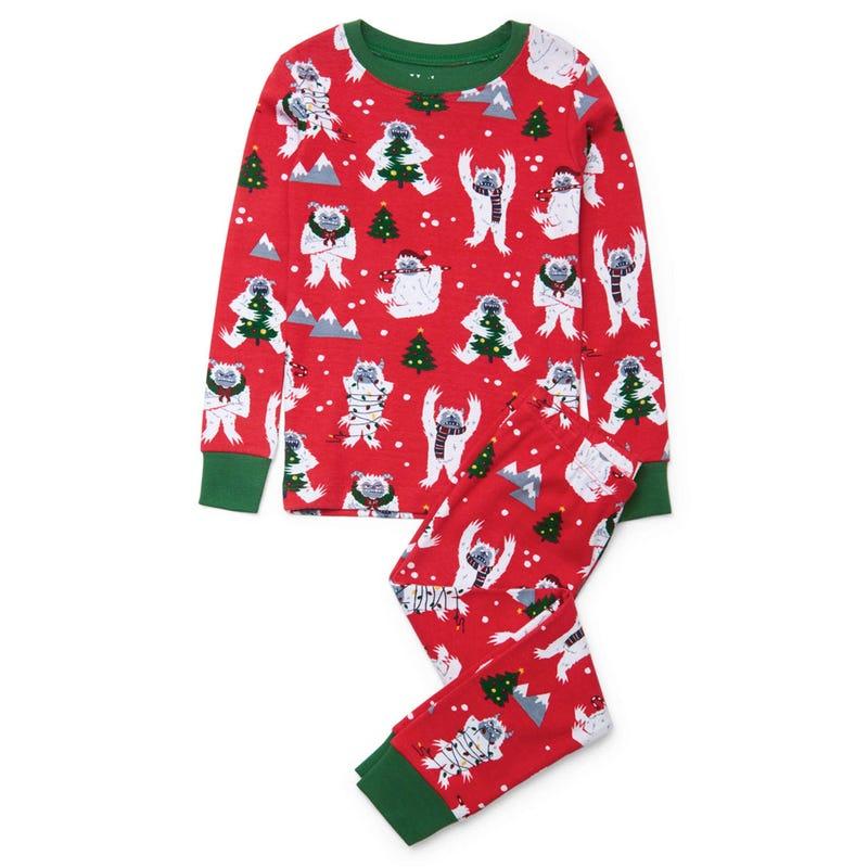 Yeletide Yetis Pajama 3-10