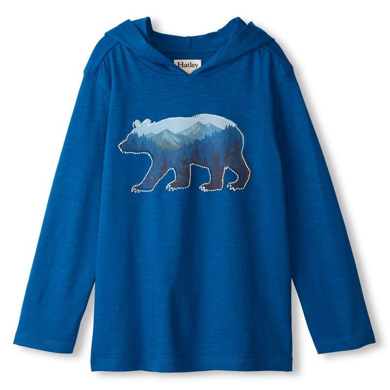 Explore Bear T-shirt 2-8y