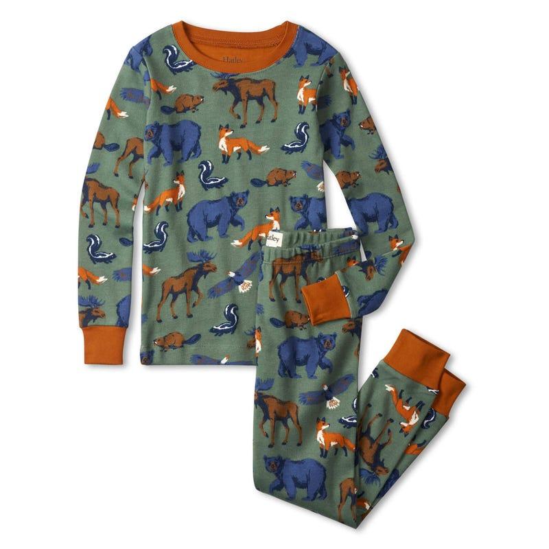 Pyjama Animaux Forêt 3-8ans