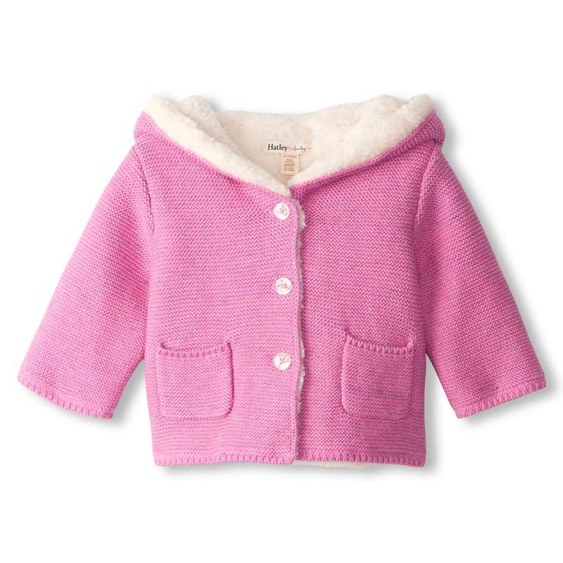 Animal Knit Cardigan 9-24m
