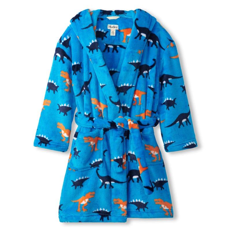 Dinos Fleece Robe 2-12y