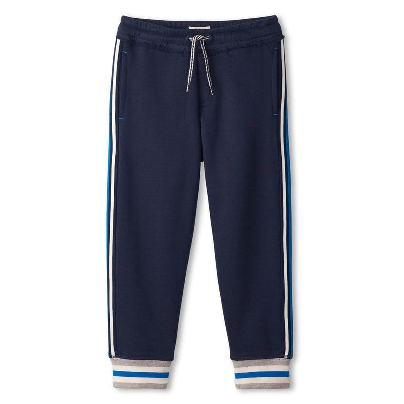 Dinos Stripe Jogger Pants 2-8y