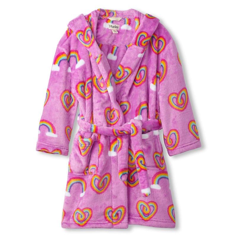 Robe de Chambre Coeurs 2-12ans