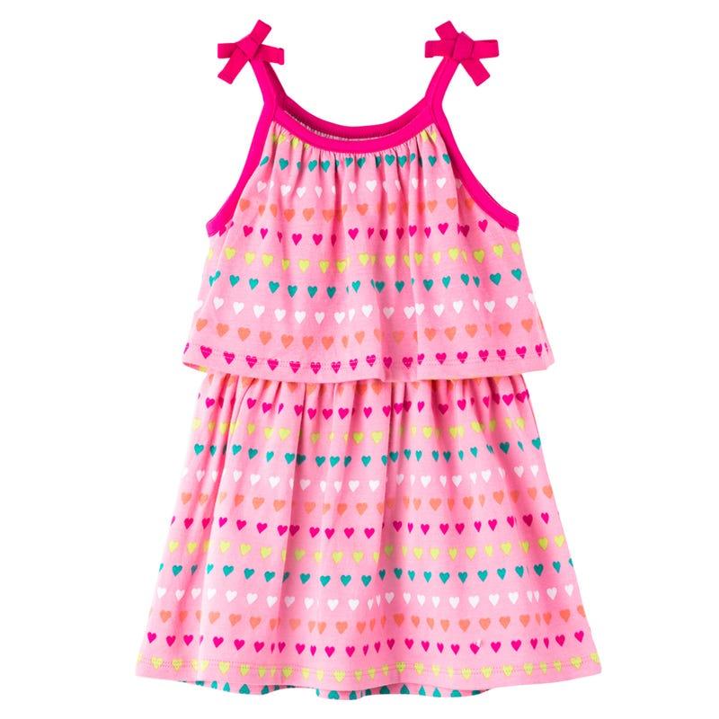 Fiesta Printed Dress 3-24M