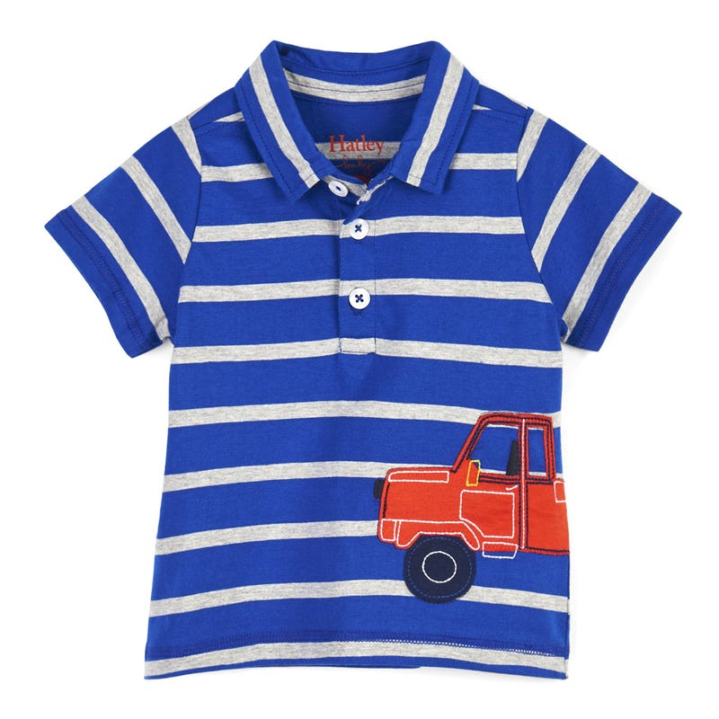 Pick Up Truck Polo Tee 3-24m