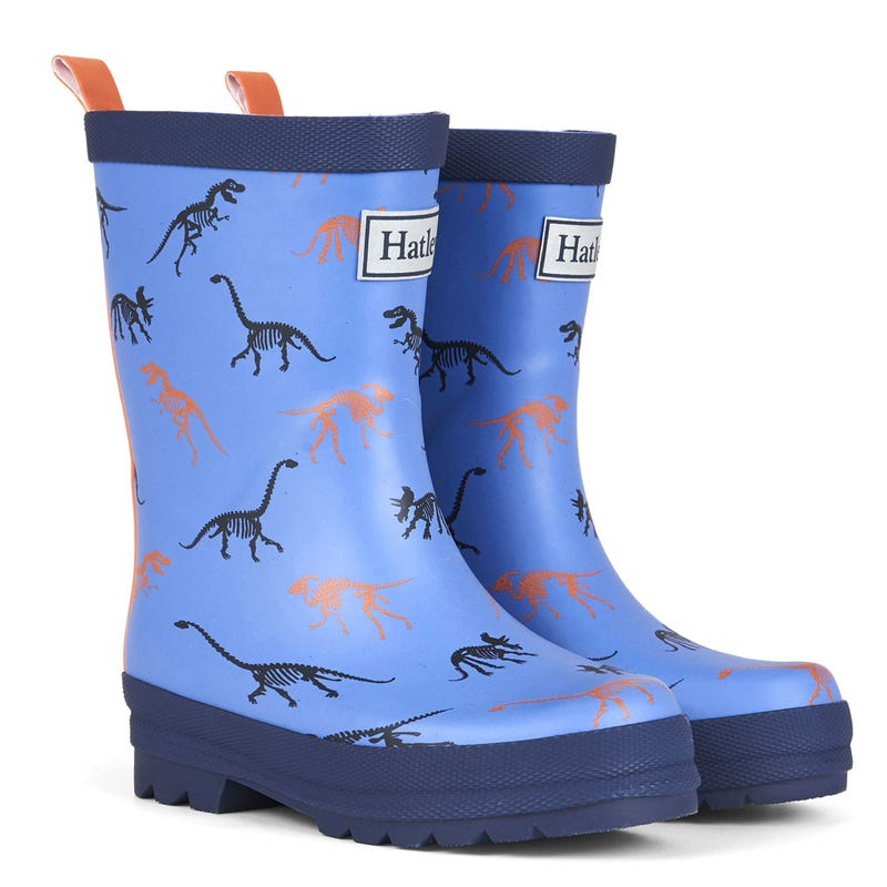 Silhouette Matte Rain Boots Sizes 4-3 - Dinos