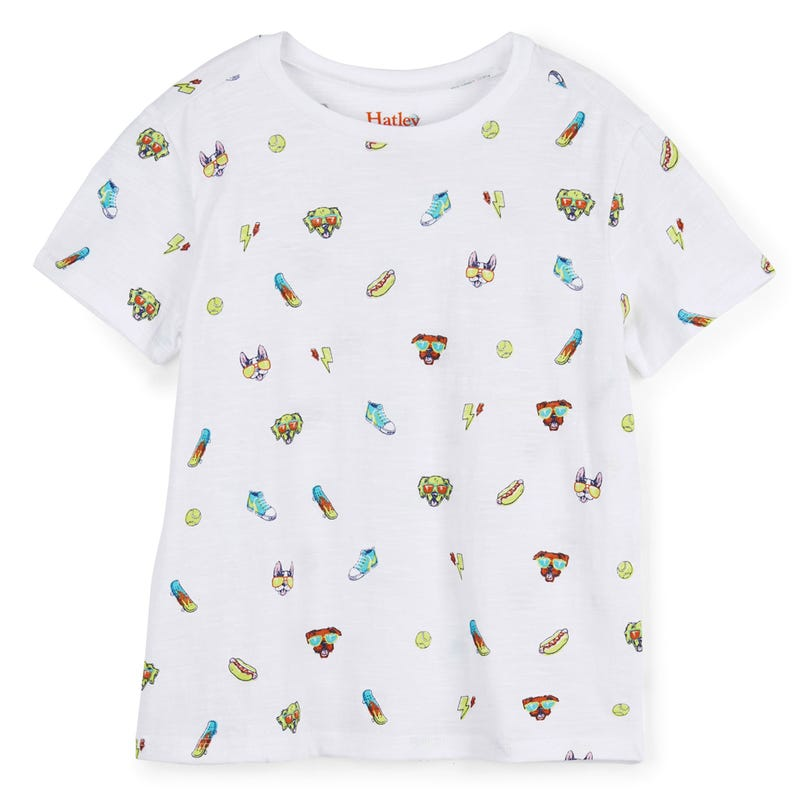 Cool Pups Graphic Tee 2-8y