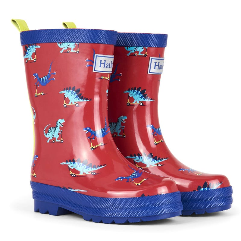 Scooting Dinos Rain Boots Sizes 4-13