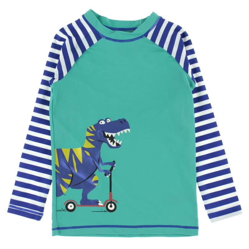 Dino Long Sleeve Rashguard 2-7y