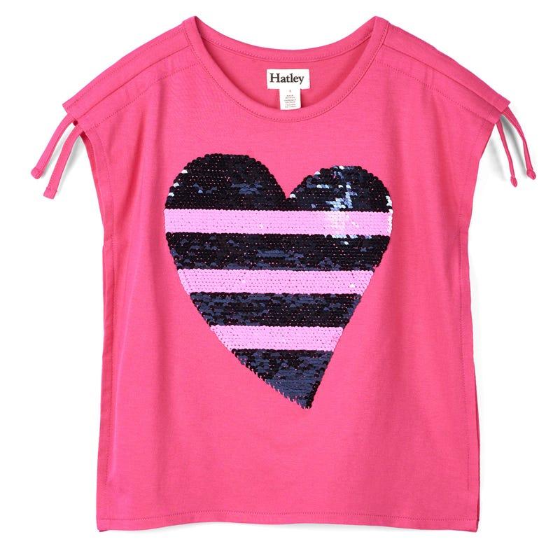 T-Shirt Coeur 3-10ans