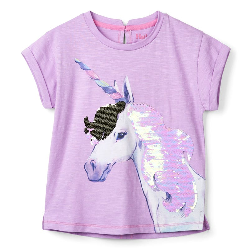 T-Shirt Graphique Licorne 3-10ans
