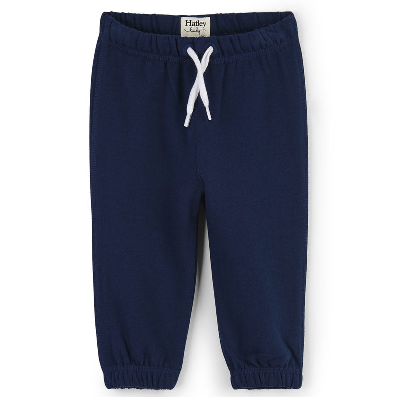 French Terry Joggers 3-24m - Navy