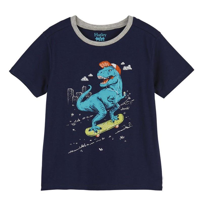 T-Shirt Graphique T-Rex 2-8ans