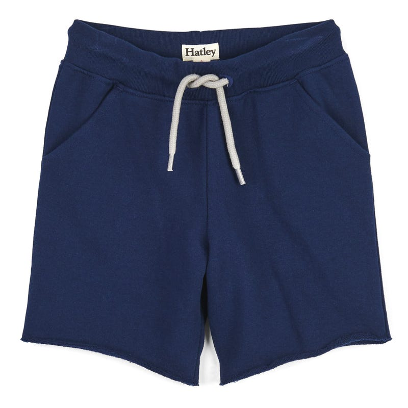 063bc3ec98d77 French Terry Shorts 2-8y - Navy