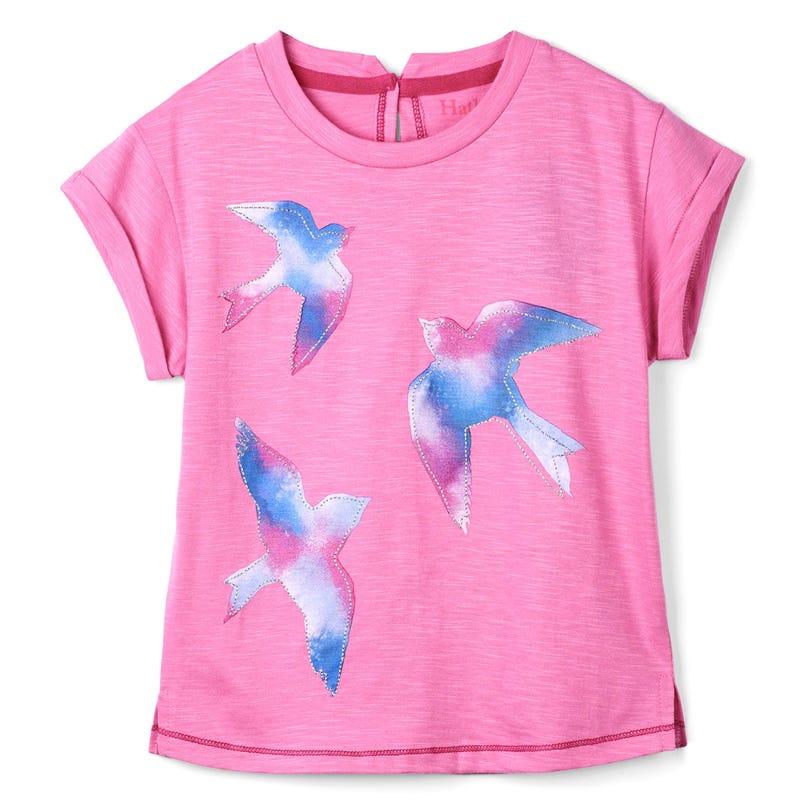 T-Shirt Graphique Oiseaux 2-8ans