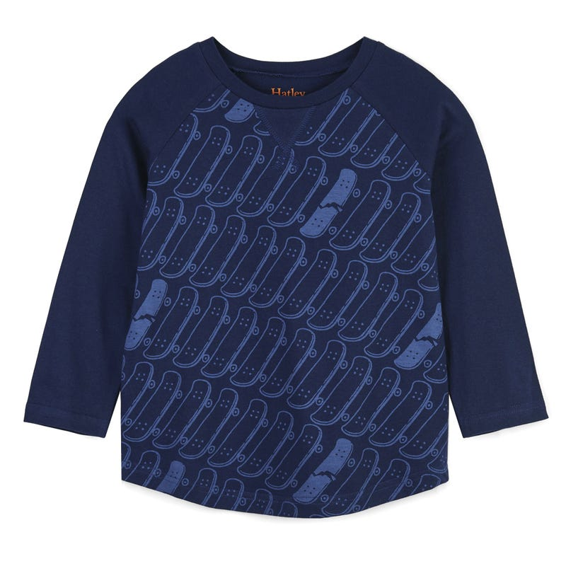 Rad Skateboards Raglan Tee 2-8y