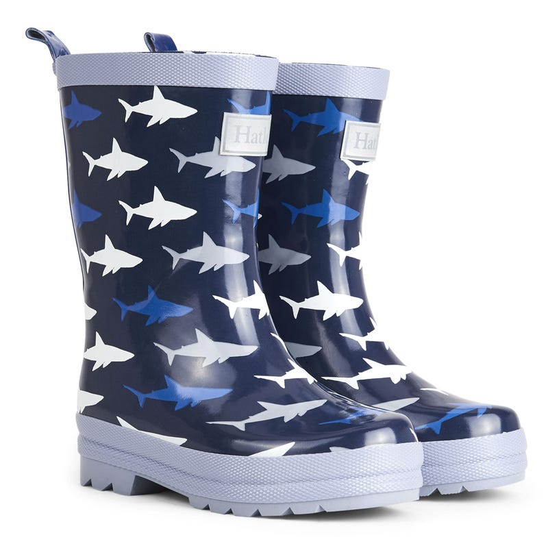 Frenzy Rain Boots Sizes 4-13 - Shark