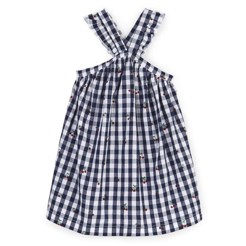 Itty Bitty Cherries Criss Cross Dress 3-24m